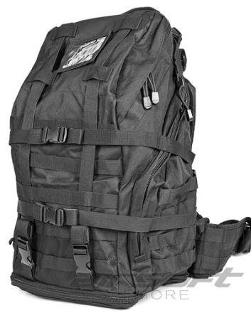 3 Day Backpack Tactical - Svart