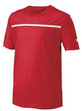 WILSON Boys Team Crew Red (M)