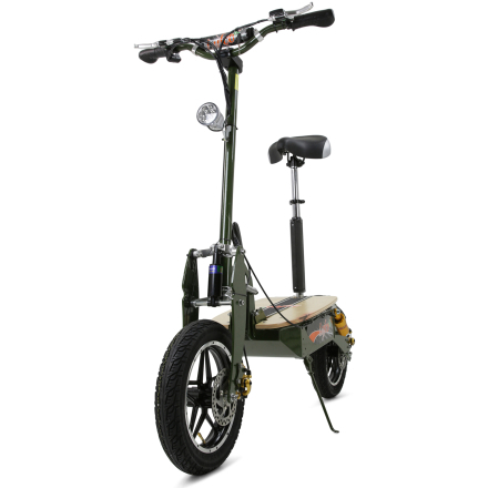 Elscooter 2000W Pro | 55+ km/tim | Army Green