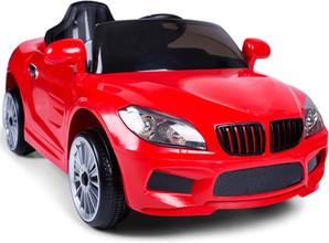 Elbil för barn - 2x25W motorer - 12V - Röd Cab