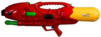 Stort vattengevär 85 cm långt - Röd med bärrem
