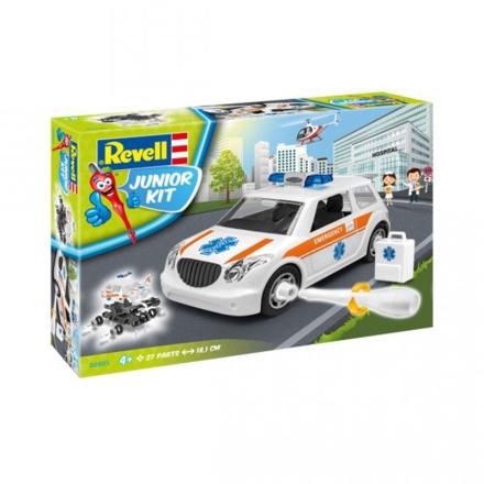 RevellRevell Junior Kit, Ambulans 1:20