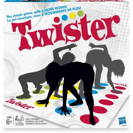 HasbroFamiljespel, Twister Classic