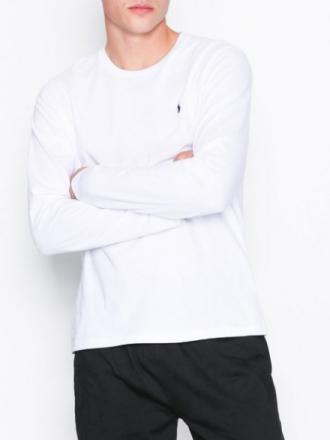 Polo Ralph Lauren L/S Crew Top Sovplagg White