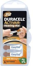 Duracell Activair 312 MF 6-pack