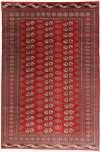 Turkaman matta 185x279 Persisk Matta