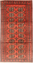 Turkaman matta 113x225 Persisk Matta