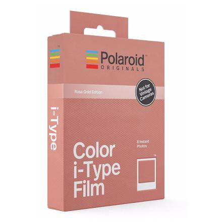Polaroid Originals Color Film For I-Type Rose Gold Frame, Polaroid Originals