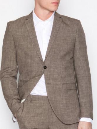 Selected Homme Shdone-Buffalo Oasis Sand Blazer Kavajer & kostymer Ljus Brun