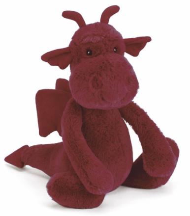 Bashful Drake röd (31 cm)