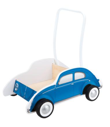 Vagn - Volkswagen beetle (blå)
