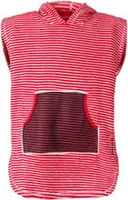 Didriksons Pier Kids Terry Poncho Barn T-shirt Röd 140-150