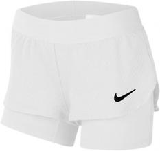 NIKE Court Flex Shorts White - Girls (M)