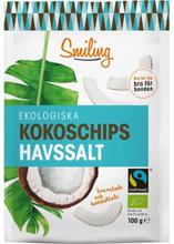 Kokoschips Havssalt Fairtrade EKO