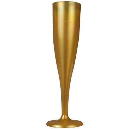 Champagneglas guld 0,1L