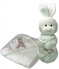 Handduk med huva 75x75 cm Jo Rabbit