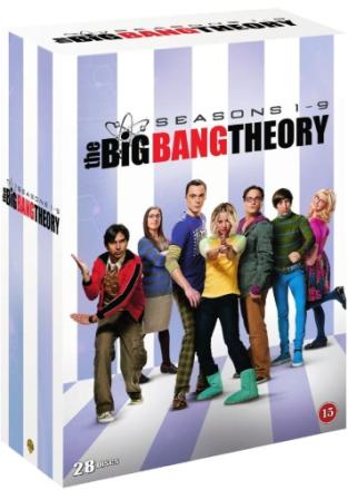 The Big Bang Theory - Säsong 1-9 (28 disc)