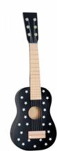 Gitarr stjärnor, svart/vit