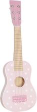 Gitarr stjärnor, vit/rosa