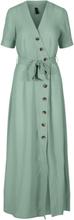 Y.A.S Omlottsydd Maxiklänning Kvinna Grön