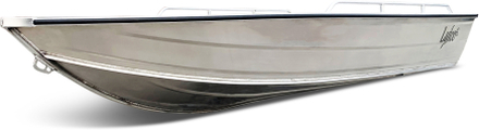 Stor aluminiumbåt för 5 passagerare - 4,2m