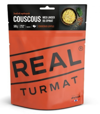 REAL Turmat - Couscpus m/Linser & Spinat
