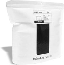 Bread & Boxers Boxer Brief 3-pack Black