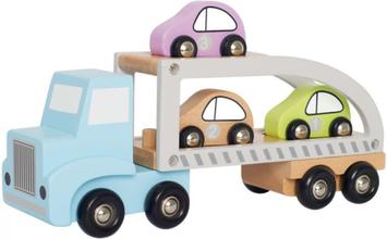 Biltransport med 3 bilar