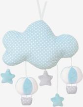 Musikmobil moln blå
