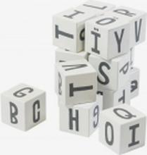 Stapelklossar bokstäver