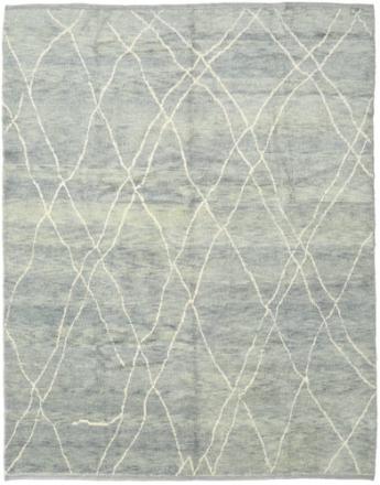 Handknotted Berber Shaggy matta 248x308 Modern Matta