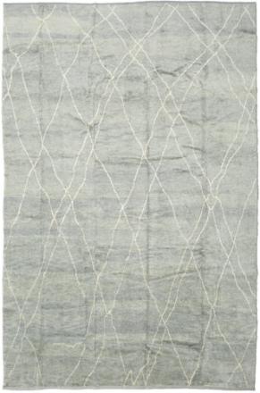 Handknotted Berber Shaggy matta 292x432 Modern Matta