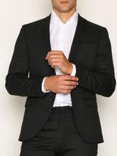 Selected Homme Slhslim-Mylorex Dk Grey Blazer B No Kavajer & kostymer Mörk Grå