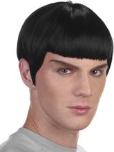 Spock Inspirerad Svart Peruk