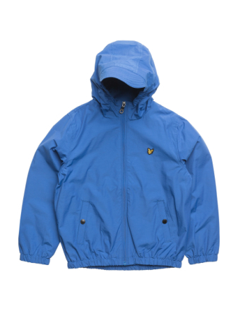 Lyle & Scott Windcheater Zip Through Hoodie Jacket