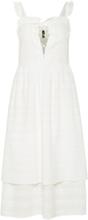 Y.A.S Ärmlös Midiklänning Kvinna White