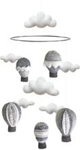 Mobil luftballong grå