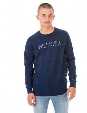 Tommy Hilfiger HILFIGER NEPPY CN SWEATER Blå Tröjor/Cardigans till Kille