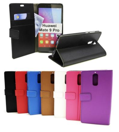 Standcase Wallet Huawei Mate 9 Pro (Svart)