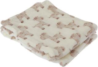 Baby Cupcake / Giraffe Design Pojke / flicka mjuk barnvagn täcke