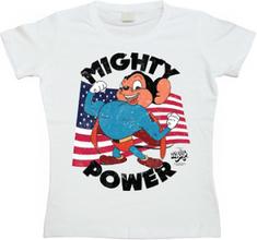 Mighty Power Girly T-shirt, Girly T-shirt