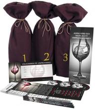 Partyset för vinprovning