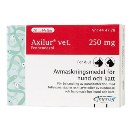 Axilur vet., tablett 250 mg 20 st