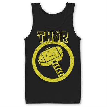 Thor Distressed Hammer Tank Top , Tank Top