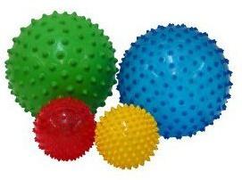 Sensobollar - 2 stora och 2 små