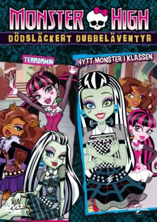 Monster High - Dödsläckert dubbeläventyr - Nytt monster i klassen & Terrormin, DVD