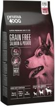 Prima Dog Adult All Breeds Sensitive Lax & Potatis, Spannmålsfritt