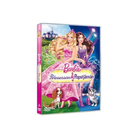 Disney Interactive Studio Barbie - Prinsessan Och Popstjärnan - DVD