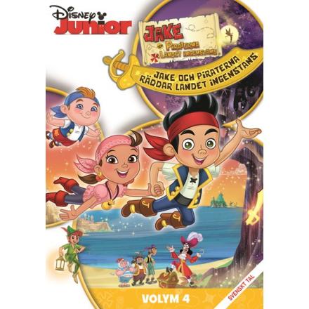 Disney Interactive Studio Disney - Jake Och Piraterna I Landet Ingenstans - DVD