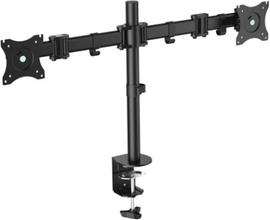 """LogiLink Monitorarm dubbel 13-27"""" 428mm"""